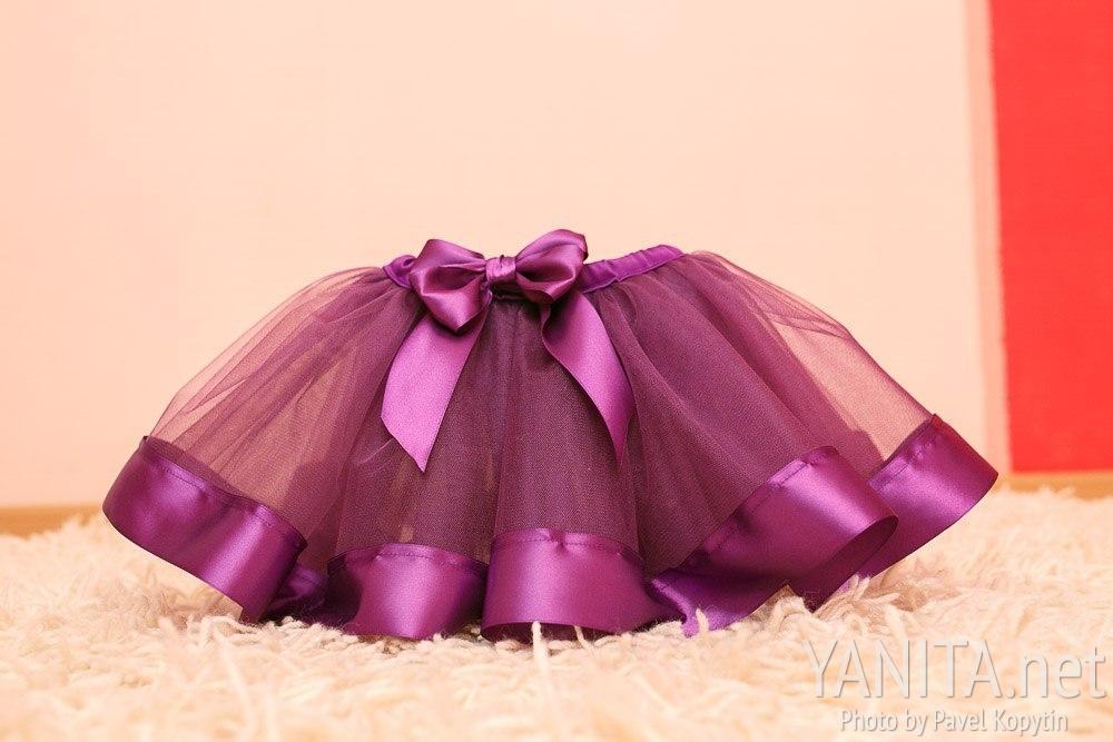 Детская юбка из сетки как сшить